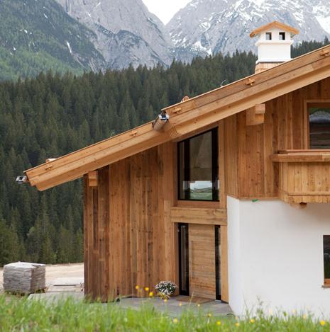 Haustüren aus Holz und Holz-Aluminium